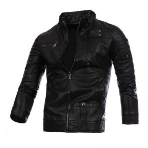 1-CYSINCOS Motorcycle Men Leather Jackets Coats