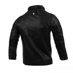 2-CYSINCOS Motorcycle Men Leather Jackets Coats
