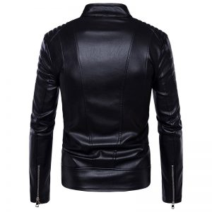 2-Jackets Leather men sport 2020