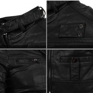 3-CYSINCOS Motorcycle Men Leather Jackets Coats