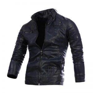 4-CYSINCOS Motorcycle Men Leather Jackets Coats