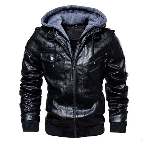Jacket Leather European-1