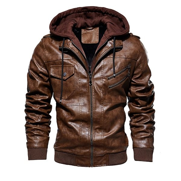 Jacket Leather European-2