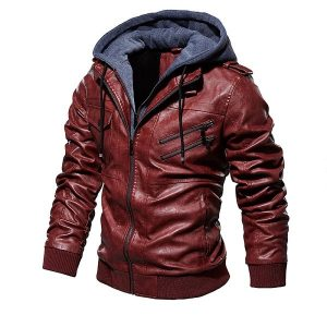 Jacket Leather European