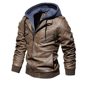 Jacket Leather European-4