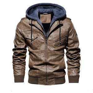 Jacket Leather European-5