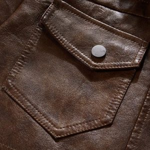Jacket Leather European-7