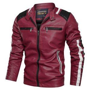 Jacket Leather Men sport-2