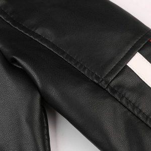 Jacket Leather Men sport-8