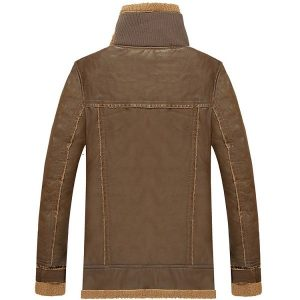 Leather Mens Jacket Moto-1