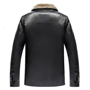 jacket leather men winter zipper-1