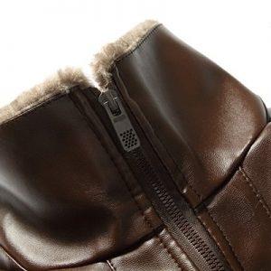 jacket leather men winter zipper-7
