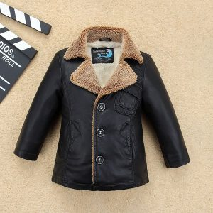 Kids Leather Jacket-1