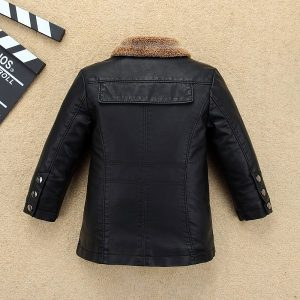 Kids Leather Jacket-2