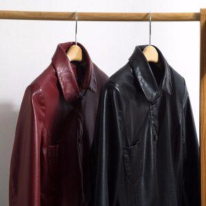 Leather Women Jacket X-Long-2