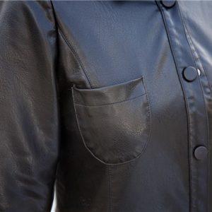 Leather Women Jacket X-Long-9