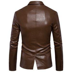 Leather jacket Men's-2