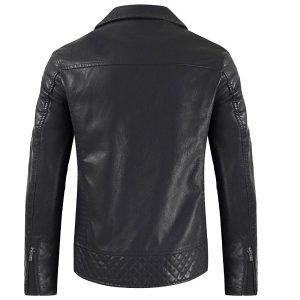 Men's leather Coat-3