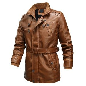 Men's leather jacket 2020-1