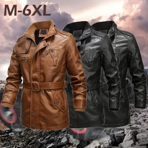 Men's leather jacket 2020-2