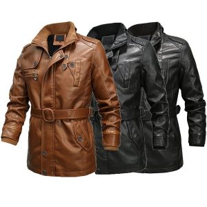 Men's leather jacket 2020-3