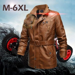 Men's leather jacket 2020