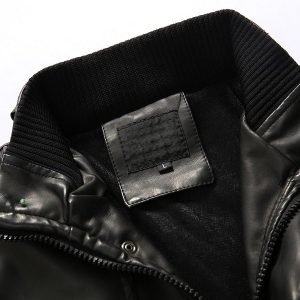 Men's leather jacket 2020-9