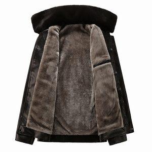 PU Men's Leather Jacket -2