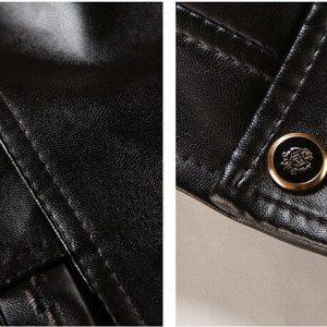 PU Men's Leather Jacket -6-