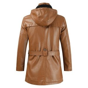 Winter Men's leather jacket-7