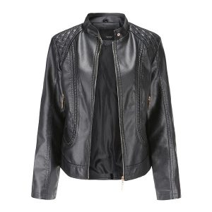 women's leather jacket-1