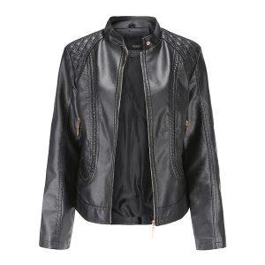 women's leather jacket-1