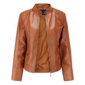 women's leather jacket-2