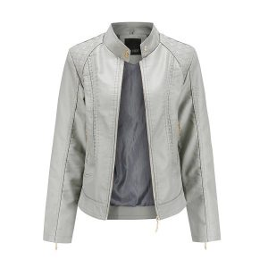 women's leather jacket-3