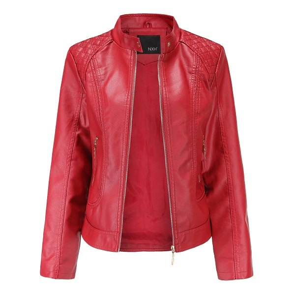 women's leather jacket-4