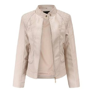 women's leather jacket-5