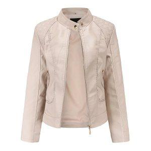 women's leather jacket-5