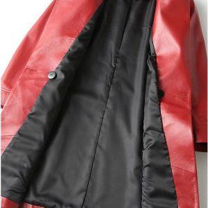 Leather Jacket Female Long-2.
