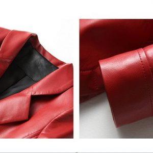 Leather Jacket Female Long-5.