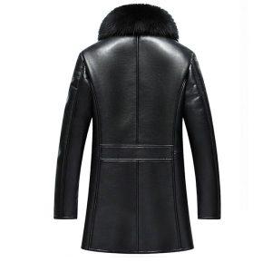 Leather Mens Coat -2