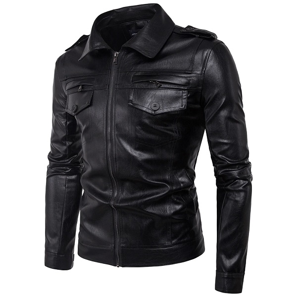 man leather jacket 2020