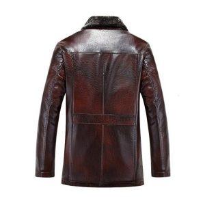 Men leather jackets Velvet-3