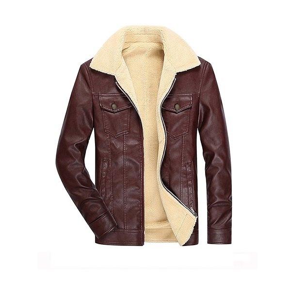 Men's Leather Jacket 2020-4