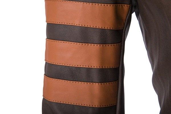 zipper leather jacket