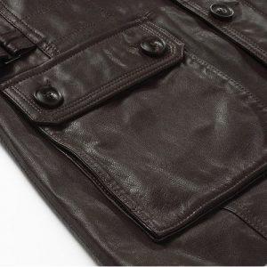 Genuine Leather Jacket-