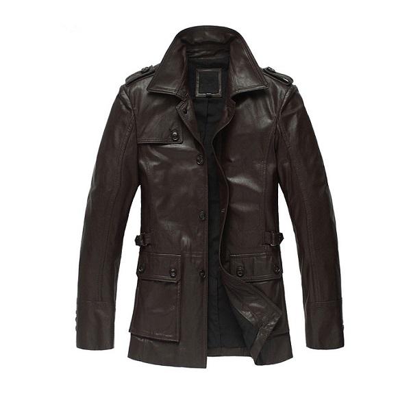 Genuine Leather Jacket-1