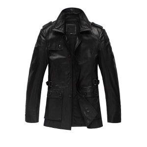 Genuine Leather Jacket-2