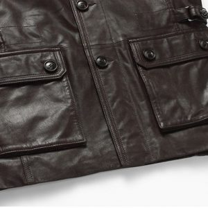 Genuine Leather Jacket-6